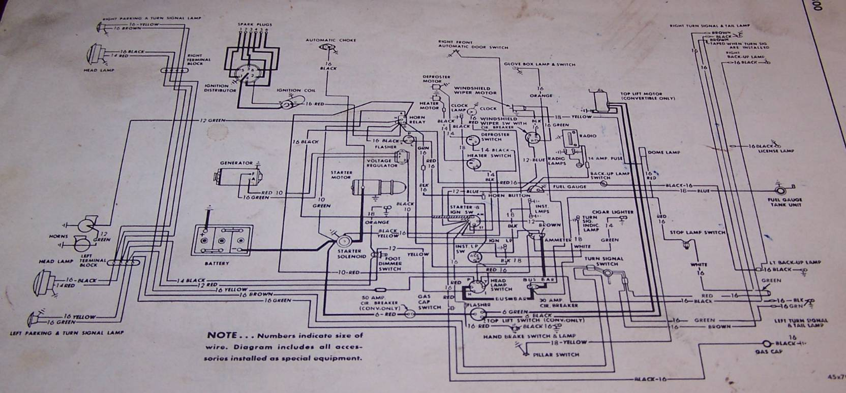 Old Mopar Information 2004 Pt Cruiser Wiring Diagram 1952 P23 Wire